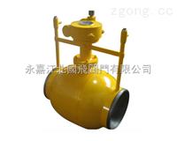 《全通径全焊接球阀》一体式全焊接球阀(Q61F)